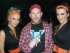 Steve enjoying with the Jägermeister girls