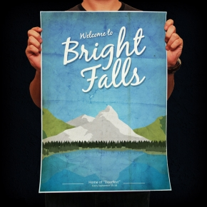Bright Falls - GamerPrint