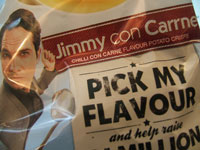 Walkers Celebrity Comic Crisps Jimmy Carr