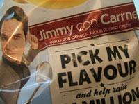 Walkers Celebrity Comic Crisps Jimmy Carr