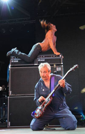 Mike Watt and Iggy Pop