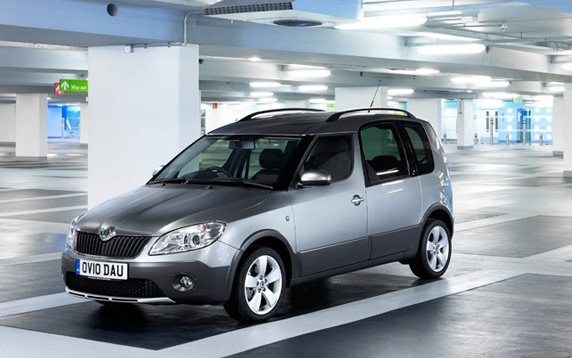 Skoda Roomster Scout review
