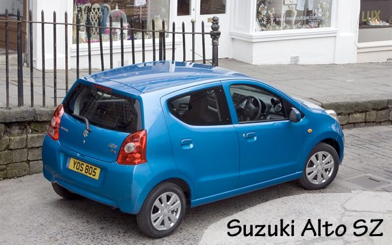 suzuki alto SZ - car review
