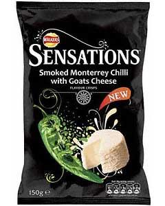 Smoked Monterrey Chilli with Goats Cheese