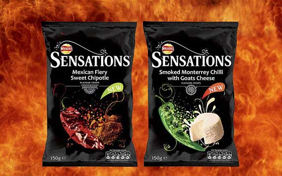 Walkers Sensations New Flavours