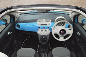 Roof Fiat 500c