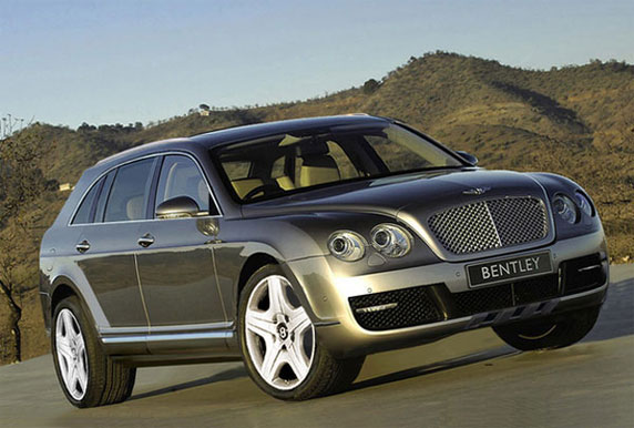 Bentley SUV Frankfurt 2011
