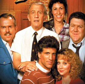 The Real cast of Cheers