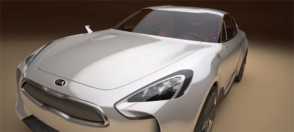Kia sedan concept Frankfurt 2011