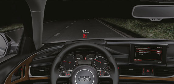 audi a6 night vision