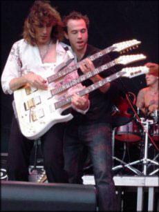 Dave weiner with Steve Vai