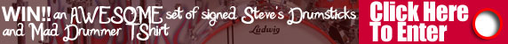 steve moore mad drummer interview