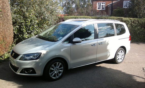 Seat Alhambra SE Lux 2.0 review