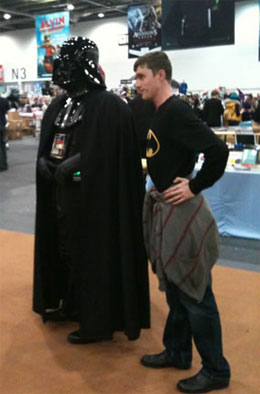 darth vadar london comic con