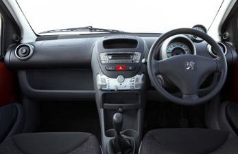 Sportium 107 interior