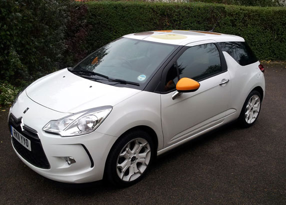 citroen ds3 orla kiely review