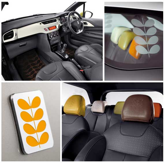 citroen ds3 orla kiely edition