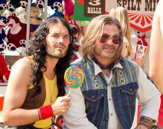 Russel Brand and Alec Baldwin Rock of Ages Movie