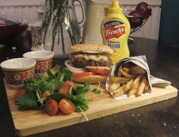 Classic Burger & Fries Recipe