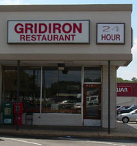 Gridiron restaurant Memphis