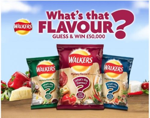 Walkers Mystery Flavours