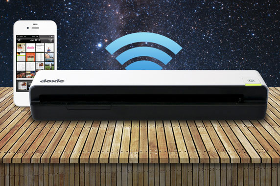 Doxie Go + Wi-Fi competition