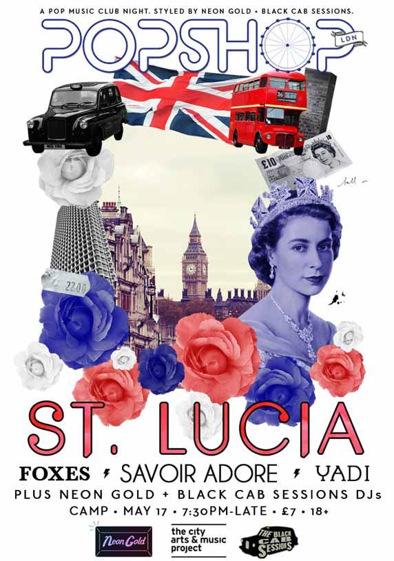 St Lucia live show London