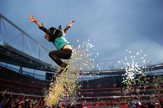Coldplay - Live Review Emirates