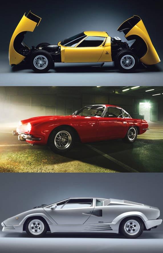 Lamborghini uncovered exhibition