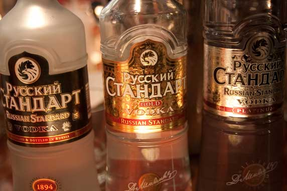 Russian Stard Vodka Tasting Evening
