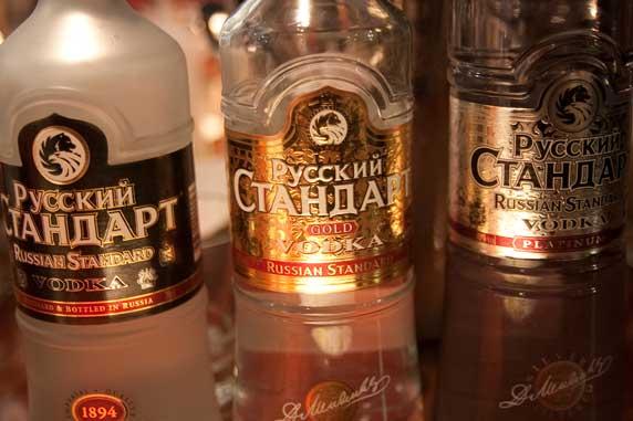 Russian Stard Vodka Tasting Evening
