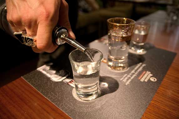 Russian Standard Vodka Tasting Evening