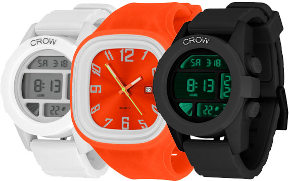 Win one of three Crow Watches