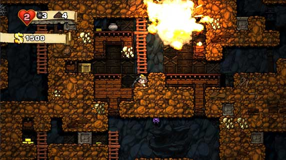 Spelunky XBL Arcade Review