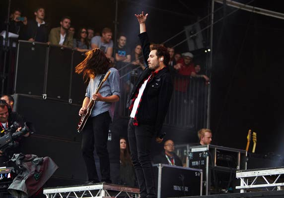 You Me at Six by Mike Malfait