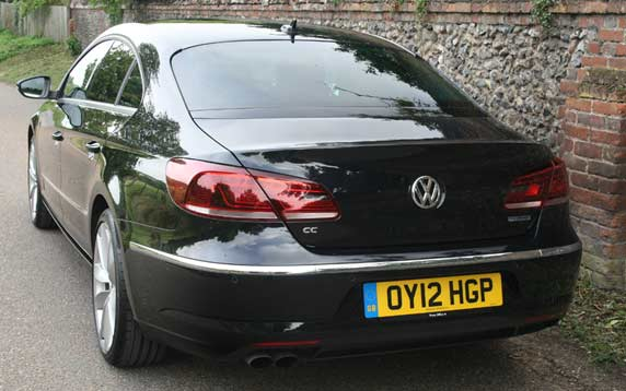 VW CC Car review