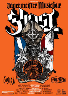 Ghost - Sheffiled o2 Academy