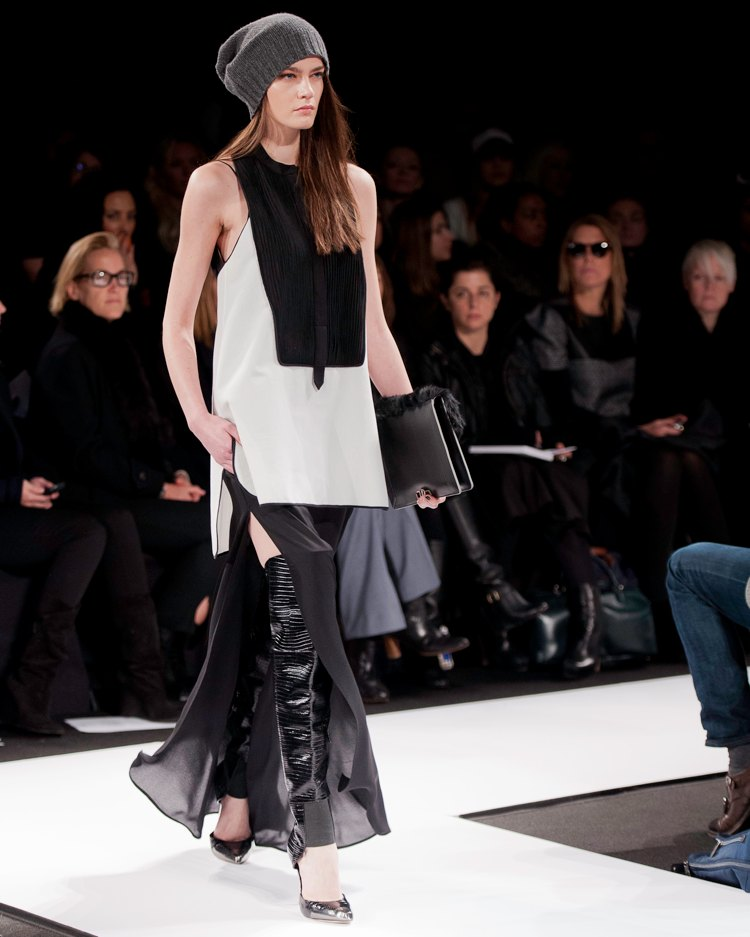 Leather And Fur - NY Fashion Week