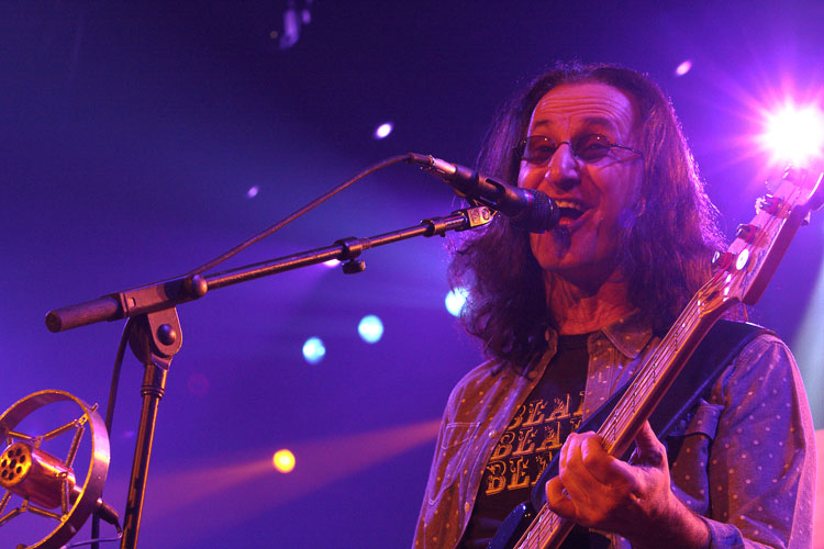 Live Review : Geddy Lee Rush O2 London 2013