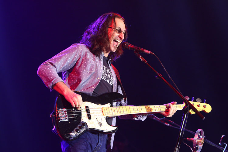 Geddy Lee - Rush Live Review O2 London 2013
