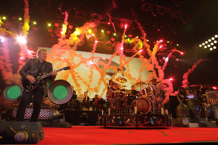 Live Review :  Rush O2 London 2013
