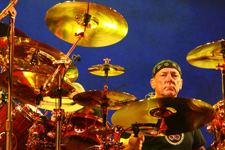 Neil Peart - Rush Live Review O2 London 2013