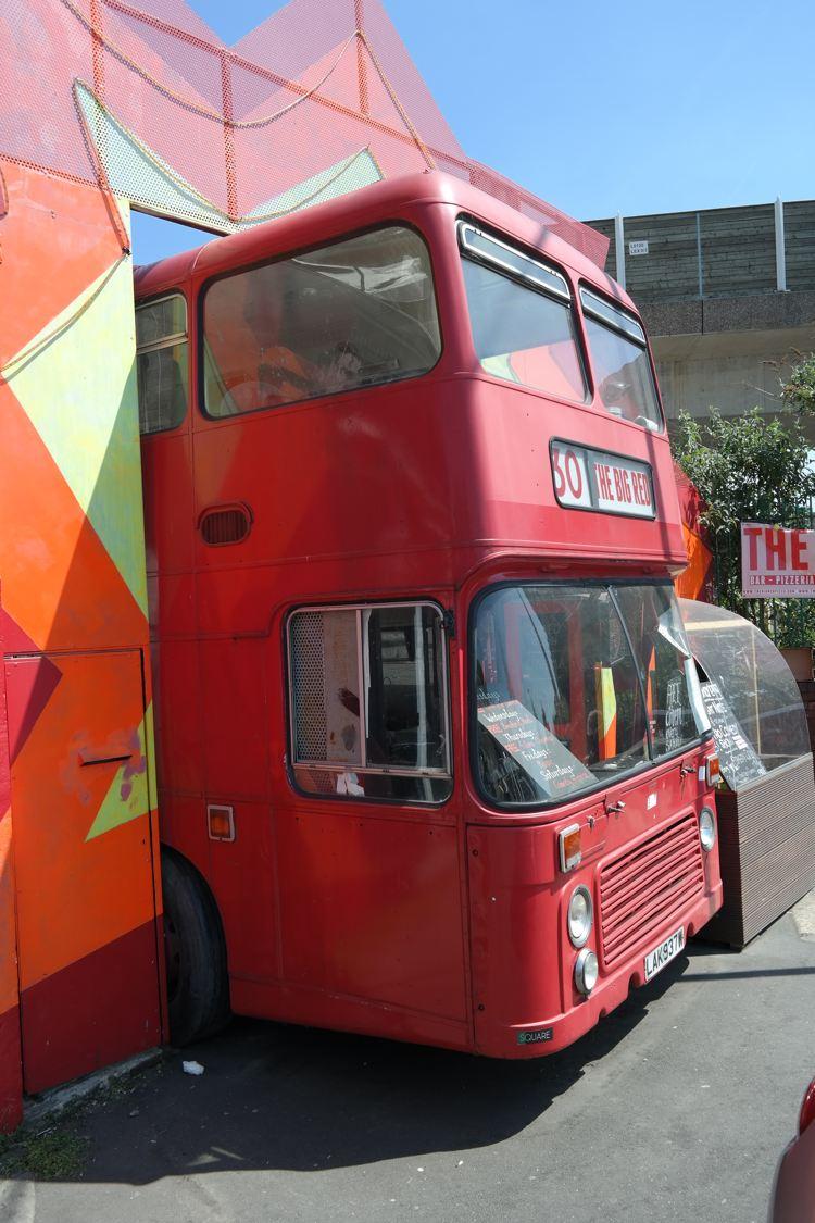 Big Red Pizza Bus #Imagelogger