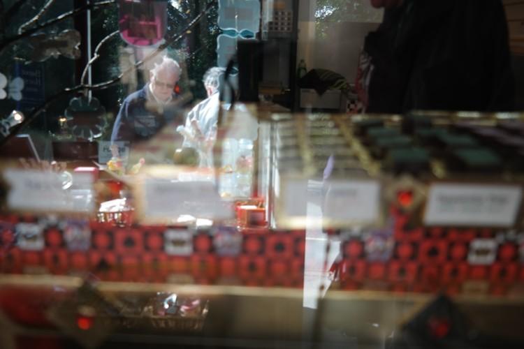 chocolate shop, Grasmere, imagelogger
