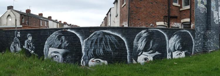 The Beatles Mural , Seaforth