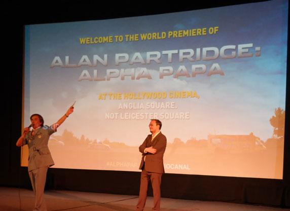 Alpha Papa - Premiere in Norwich