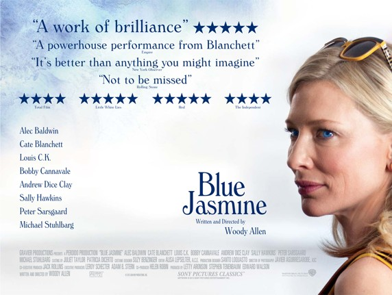 Win tickets to see Blue Jasmine