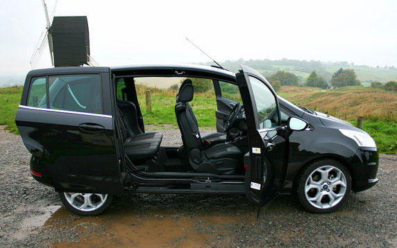 car review ford b max 1 6 litre tdci flush the fashion. Black Bedroom Furniture Sets. Home Design Ideas