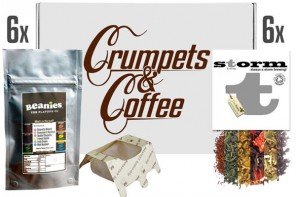 Win one of three Crumpets and Coffee Boxes