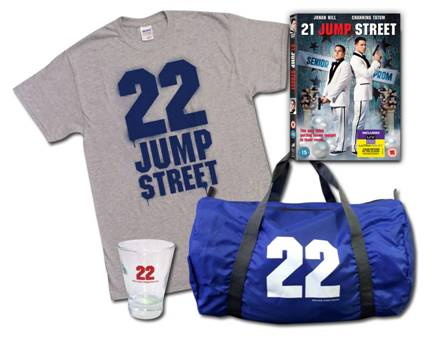 22 Jump St Prize goodies